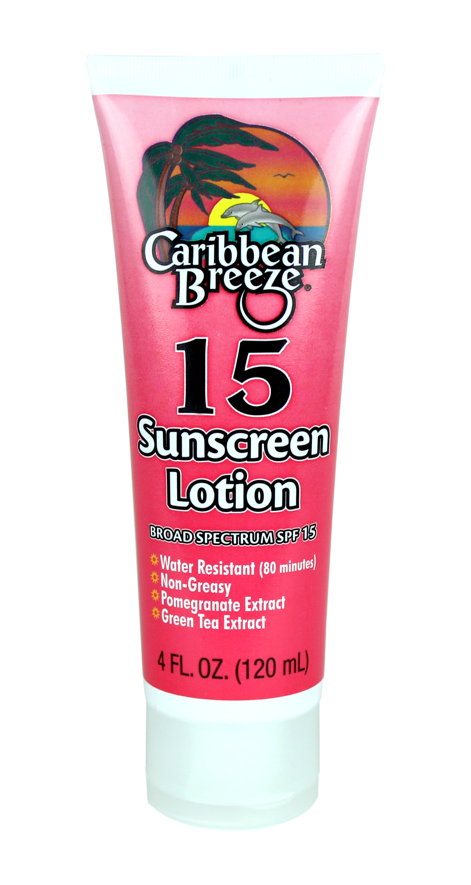 Caribbean Breeze SunScreen Lotion SPF 15