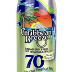 Caribbean Breeze Sunscreen SPF 70 Mist