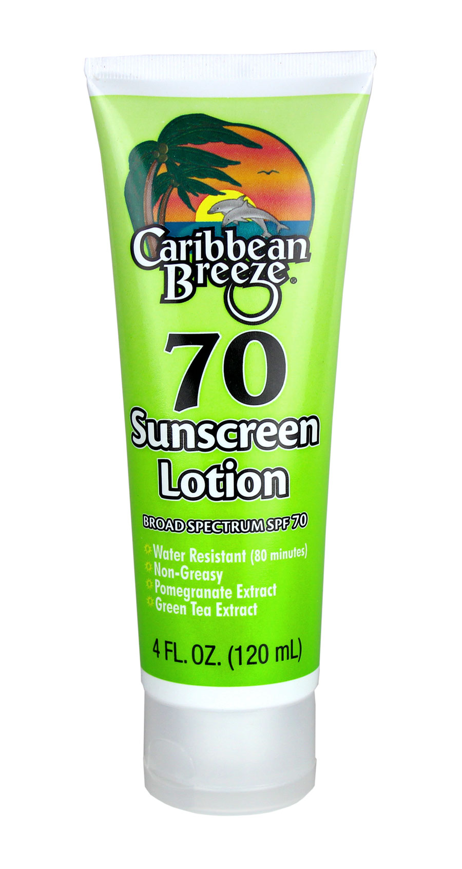 Caribbean Breeze Sunscreen SPF 70 Lotion