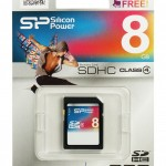 Silicon Power 8GB Memory Card