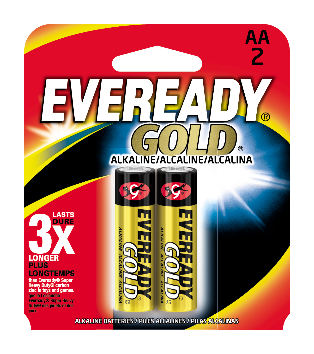 Eveready Gold AA Batteries