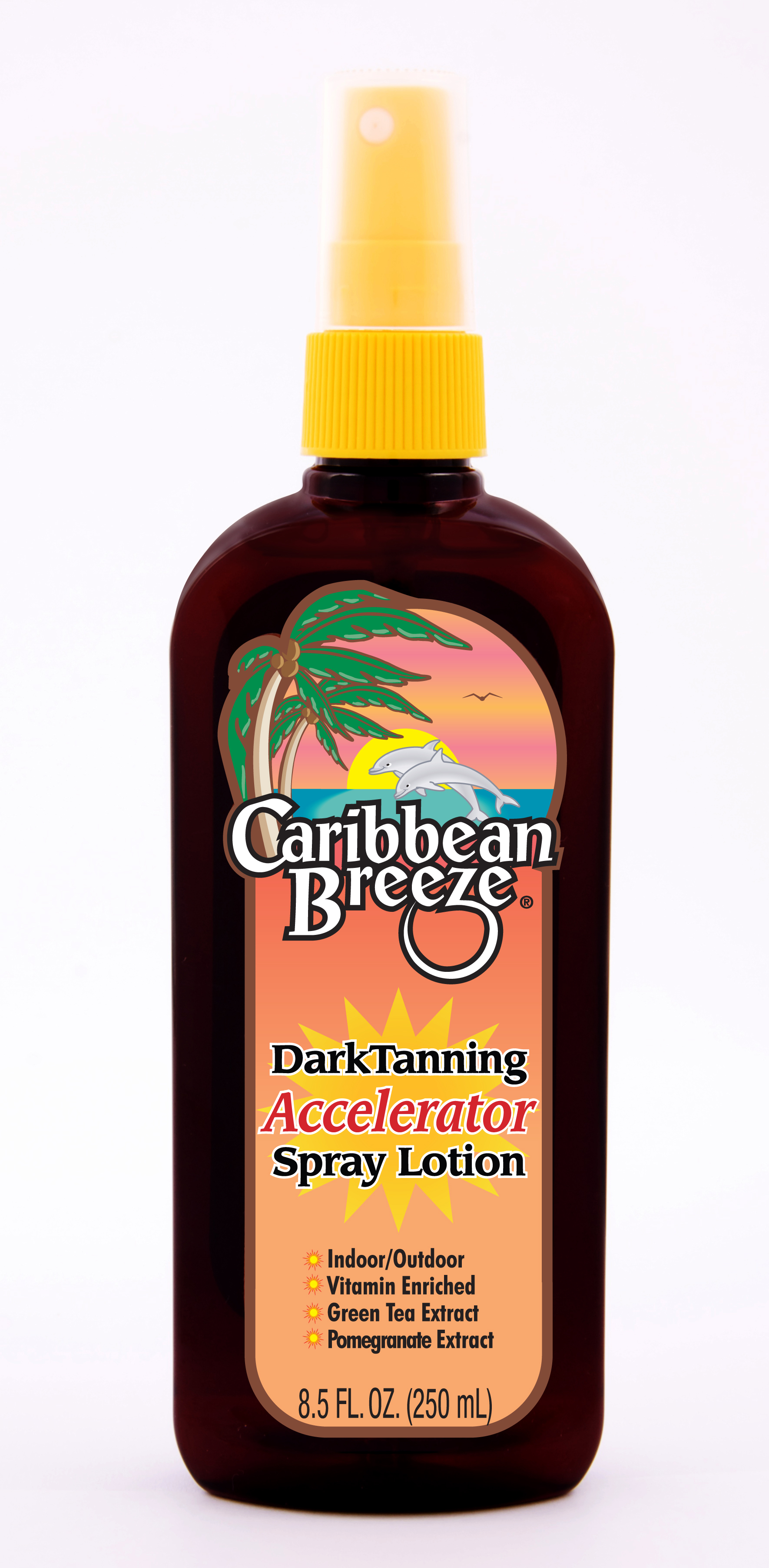 Caribbean Breeze Dark Tanning Accelerator Spray