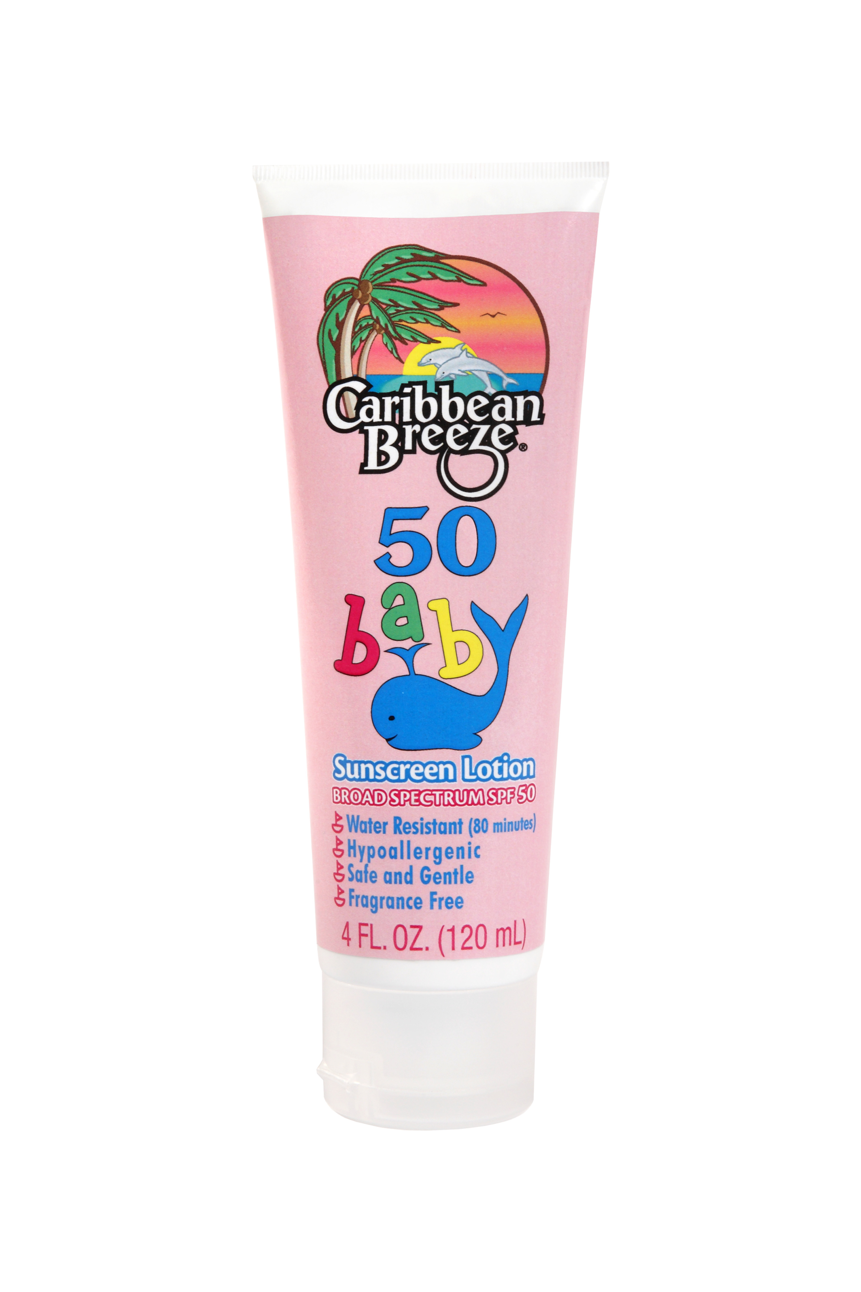 Caribbean Breeze SPF 50 Baby Lotion